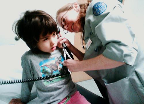 Forklædning hos lægen