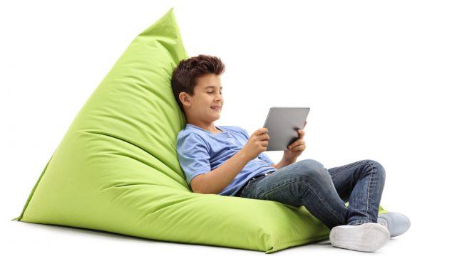Sækkestol er et hit til teenagerværelset