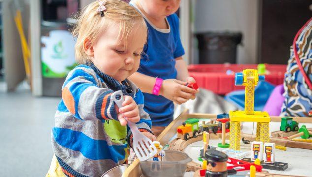 At give slip – når de små starter i børnehave